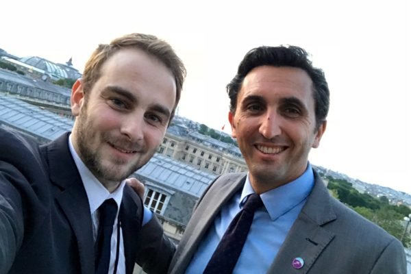 Olivier Vollaire et Julien Aubert