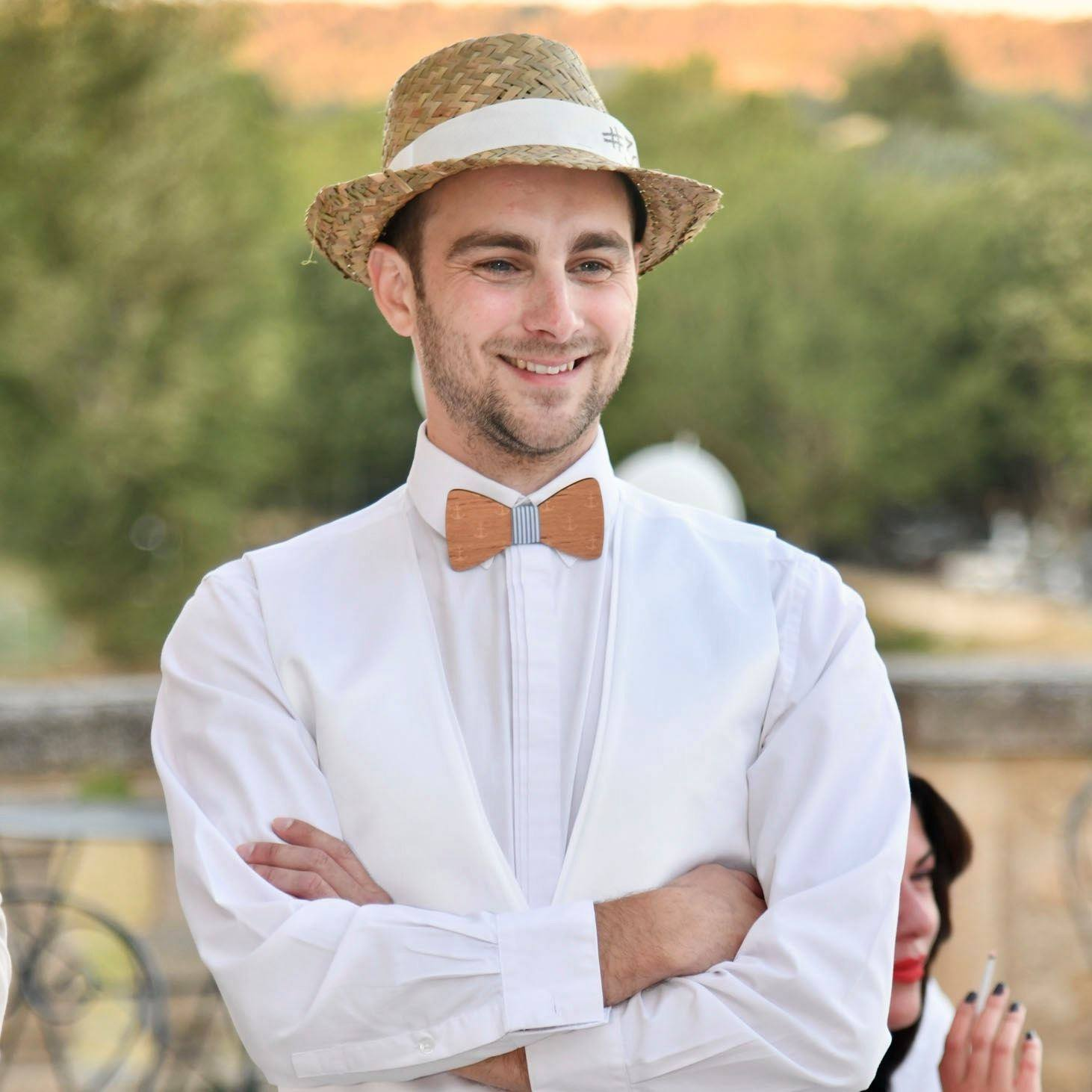 Olivier Vollaire – 30 ans – Soirée blanche